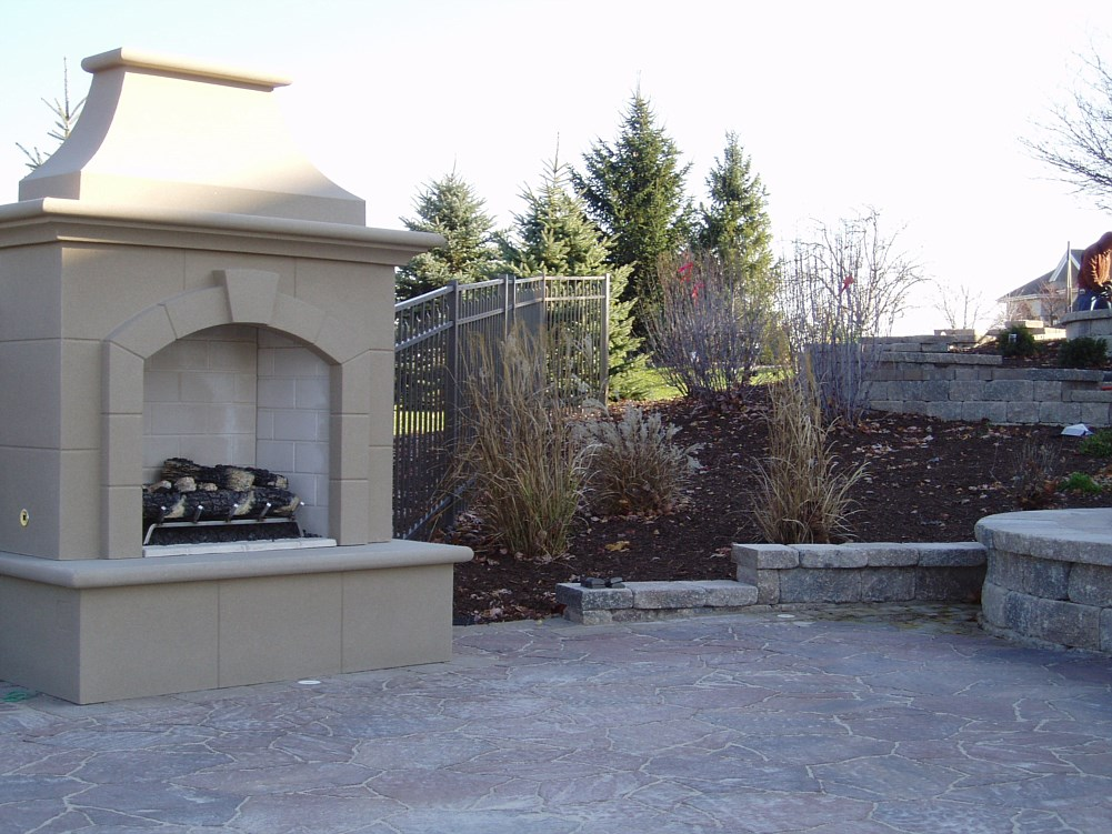 Outdoor Fireplaces Paver Walkways Patios Kenosha